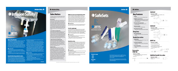 manufacturers product spec a4 inserts design ams a4 double sided